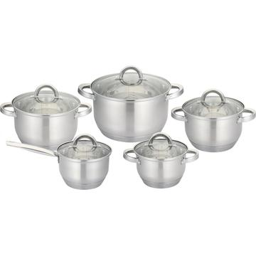 Ensemble de casseroles 10pcs casserole