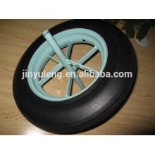 Ruedas de goma 14inch 350-8solid para la carretilla hecha en China
