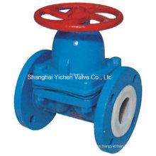 ANSI Weir Type Diaphragm Valve for Chemical