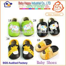 Fabricant de semelles douces adultes chaussures de bébé en provenance de Chine