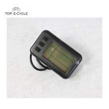 Inteligencia bicicleta eléctrica / kit de convección ebike pantalla LCD con cable a prueba de agua