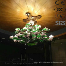 Antique Project Hotel Energy Saving Flower Galss Chandelier