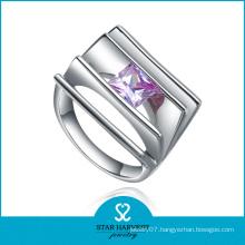 Tension Setting Jewelry in Dubai Silver Ring Big Stone