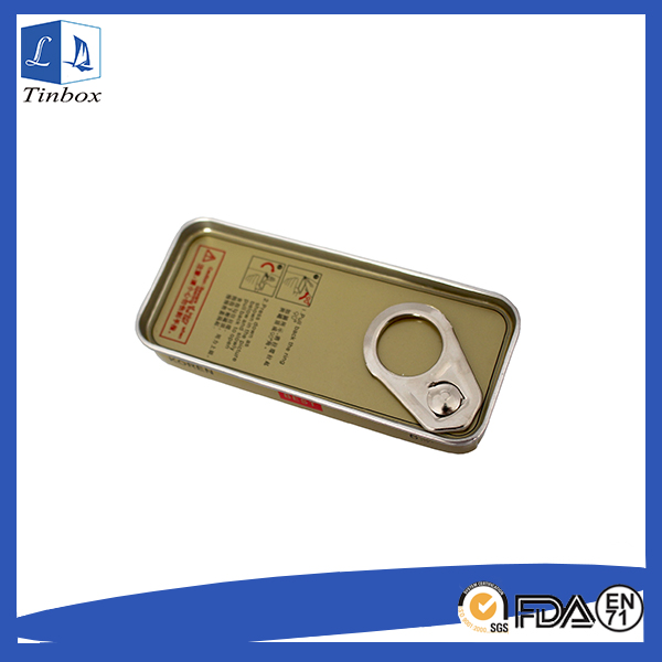 Rectangular Metal Tin Box Packaging
