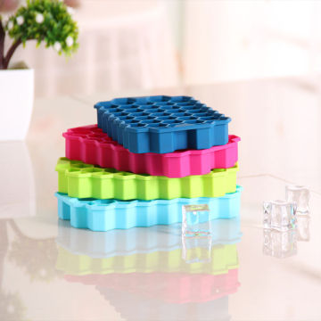 Silicone Ice Chocolate Jelly Candy Soap Mould Wine Ice Tray