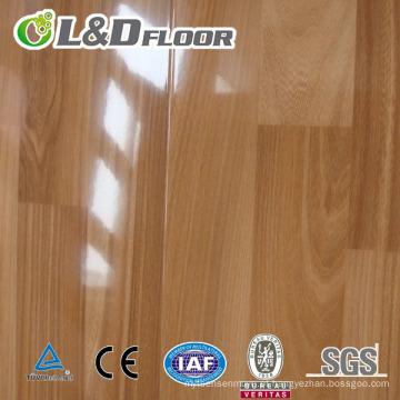 Revestimento laminado intemporal de alto brilho em PVC intemporal
