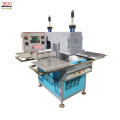 semi-auto embossing machine with protective cover for cloth