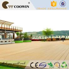 Timber plastic waterproof outdoor floor decking walkway