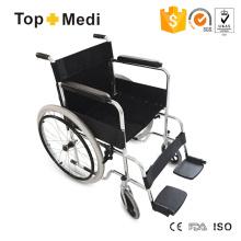 Topmedi Aluminum Lightweight Standard Wheelchair for Hospital Use