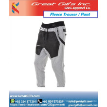 Women and men New Casual Sports Fleece Long Pants Men Cotton Custom Made Trousers