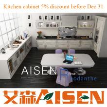 Rhodanthe 2015 nuevos gabinetes de cocina de diseño MDF / PVC aceptar personalizar precio barato
