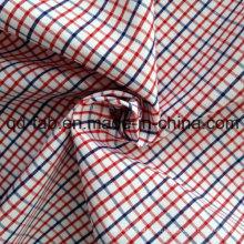 Fio de algodão tingido tecido xadrez (QF13-0218)