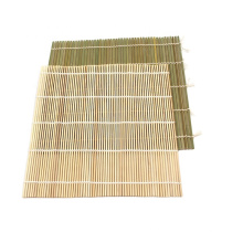Eco-friendly Good Quality Sushi Making Tool Natural Bamboo Rolling Rice Mats