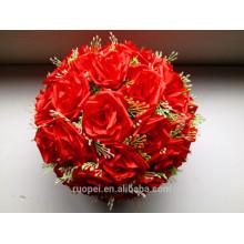 Искусственный шелк цветок розы мяч для свадьбы или украшения праздника