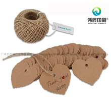 Special Shape 3 High Quality Paper Printing Hang Tag