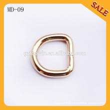 MD09 Boucles d'oreille en forme de demi-cercle en forme d'or sur mesure