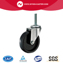 Threaded stam Swivel PP industriële Caster