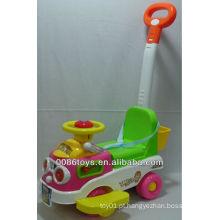 Crianças, empurrão, car, brinquedo
