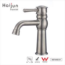 Haijun 2017 Contemporary American Bath Stainless Steel Basin Mixer Faucet