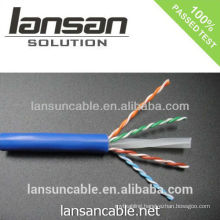 certifier network cat6 lan cable with excellent performance