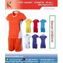 football costumes girls / soccer wear women / football uniforms for ladies