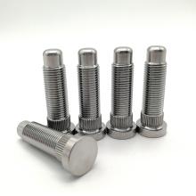 Tuerca de rueda de coche de titanio Tornillos de orejeta de rueda de titanio GR5