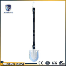 portable folding roadway traffic shovel