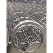 Fabricante profissional de gaiola de saco de filtro