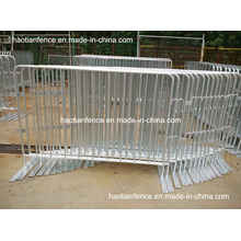 6ft X 4ft Hot Dipped Galvanized Crowd Control Barriers with Fixed Feet