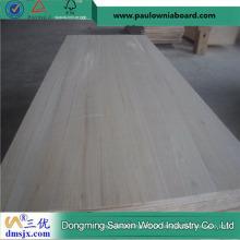 Preço de madeira maciça Paulownia leve