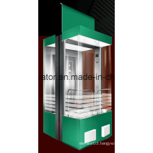 Special Designed Panoramic Elevator with 3 Side Wall in Glass