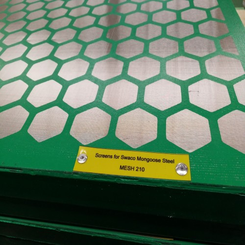 Shengjia Factory Swaco Mongoose Steel Shale Shaker Screen
