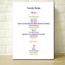 Reglas de la familia