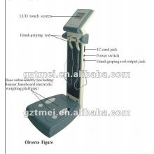 """4"""" touch screen body composition analyzer"""