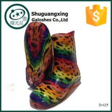pvc compuesto tailandia 2015 niños botas de tacón alto producto C-705