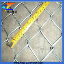 70 * 70mm elektrischer verzinkter Kettenverbindungszaun (CT-33)