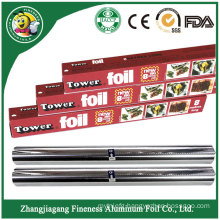 Household Aluminum Foil Roll for Food Package