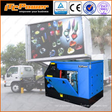 16kVA super Ruhig Diesel-Generator für LED-Handy-Werbung LKW Jiangsu liefern