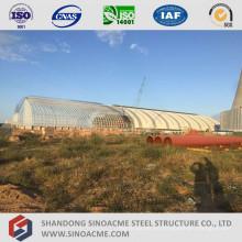 Espacio de acero Estructura Estructura Vertiente de la central térmica