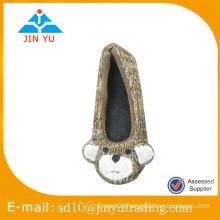 China whole sale factory price plush panda slipper for ladies