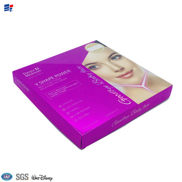 Face Cosmetic decorated paper boxes