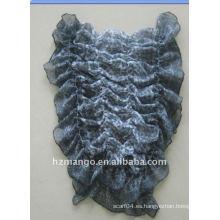 Las últimas bufandas ocasionales elásticos de la mujer de la manera