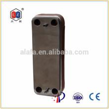 Brasados permutador de calor, trocador de calor para sistema de aquecimento solar de água