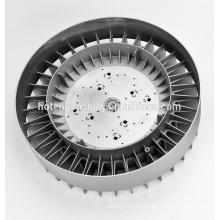 Поставка фабрики OEM и ODM для корпуса светодиодный алюминиевый теплоотвод для Сид