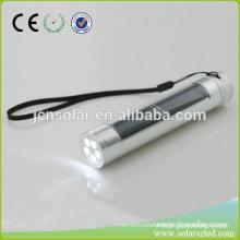 Solar Power Rechargeable led Flashlight solar powered led flashing light