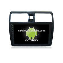 """¡Fábrica directamente! ¡10.1 """"tacto completo sin reproductor de DVD del coche del dvd + android para Suzuki swift + OEM + quad core!"""