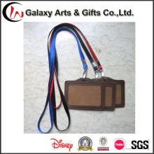 Персонализированные шнурки пустой нейлон с ID карты держатель логотип