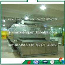 Sanshon SSD Modelo Tunnel Quick Blast Freezer Machine