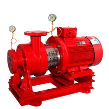 Pompe à eau électrique verticale en ligne de lutte contre l'incendie