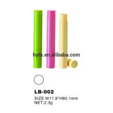 2,3 g Kunststoff Mini Lippenbalsam Behälter Rohre